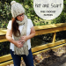 knit look crochet hat and scarf