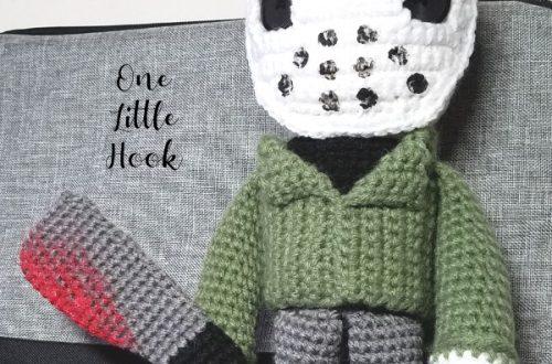 jason voorhees crochet doll