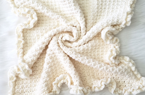 modern heirloom baby blanket