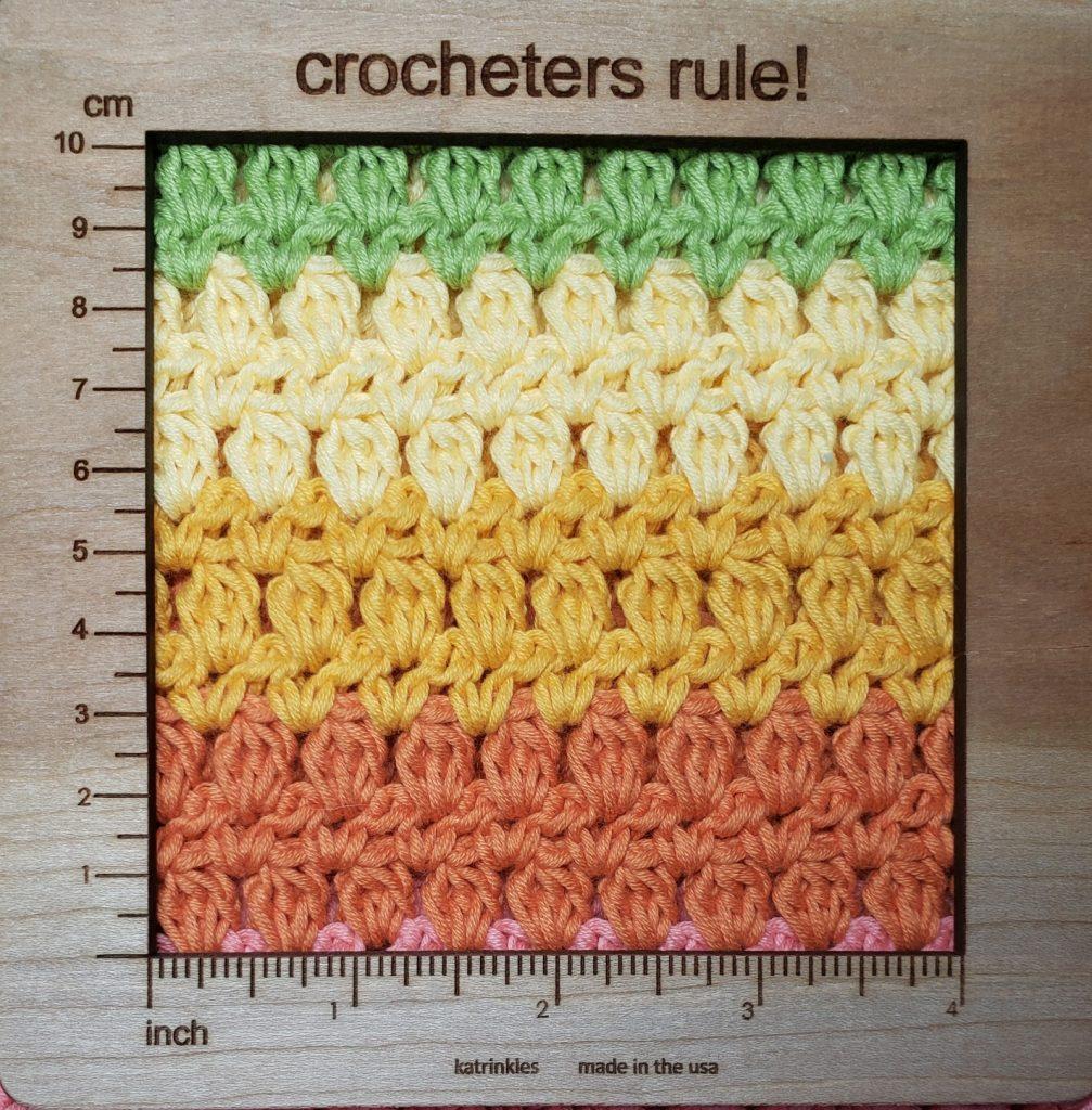 crossbody tote crochet pattern gauge