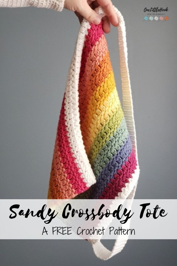 crossbody tote crochet pattern