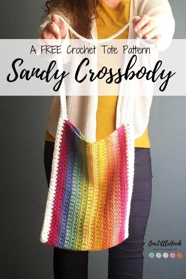 crossbody tote crochet pattern