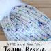 knit look crochet beanie
