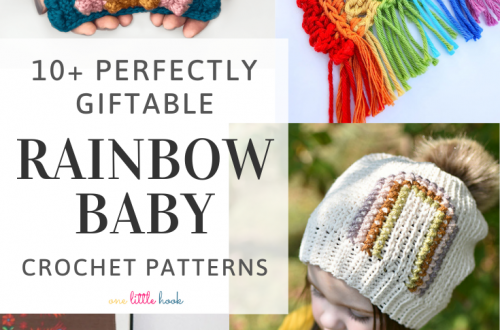 rainbow baby crochet pattern